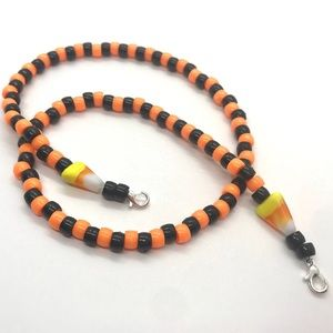 Fall/Halloween Lanyard/Necklace for Your Mask